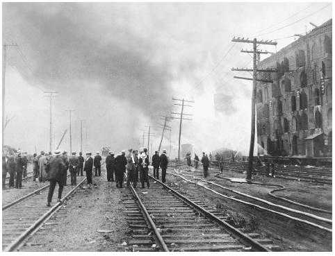Aftermath of the Black Tom Bombing