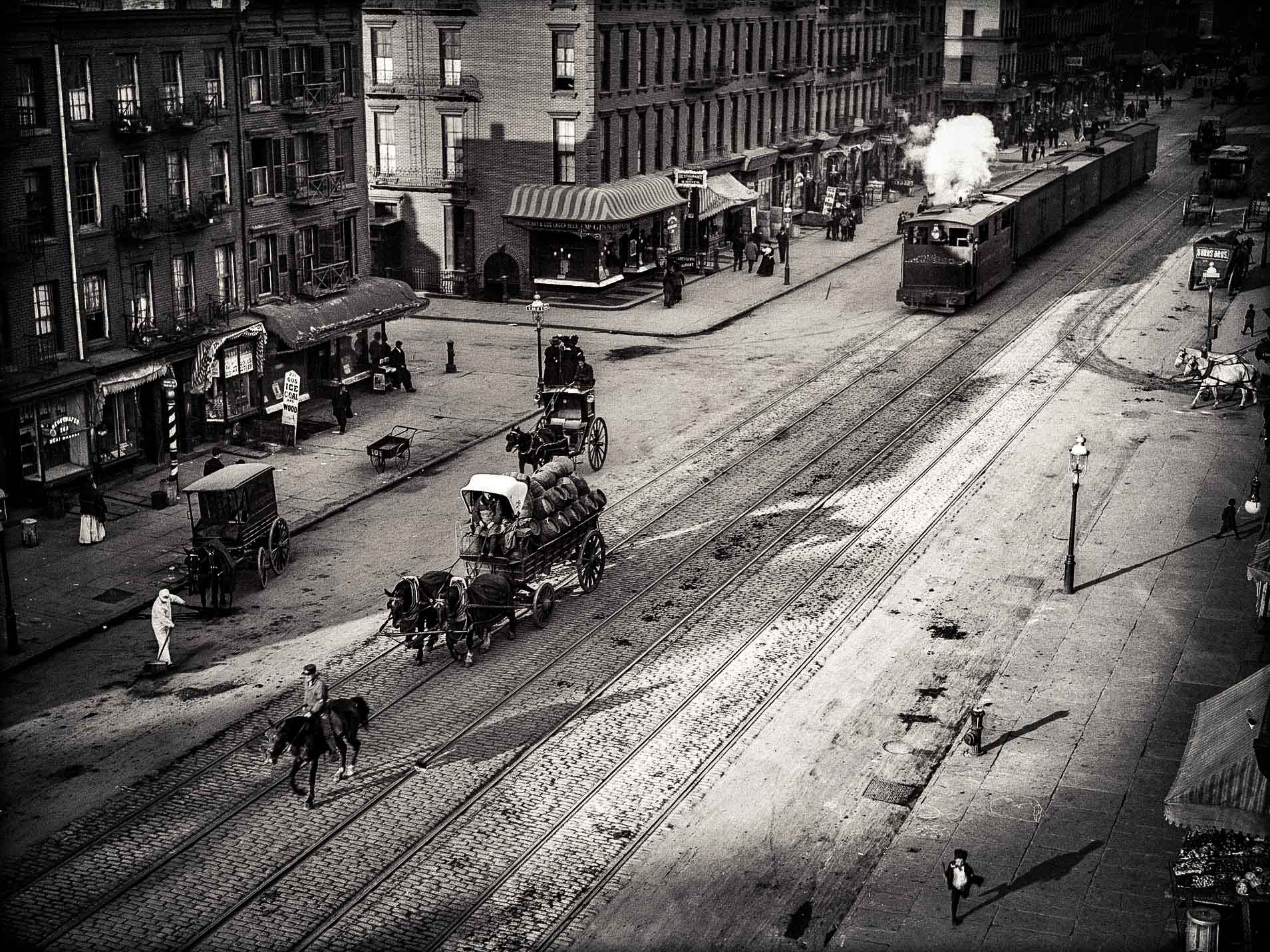 Chelsea during the Old Days of New York