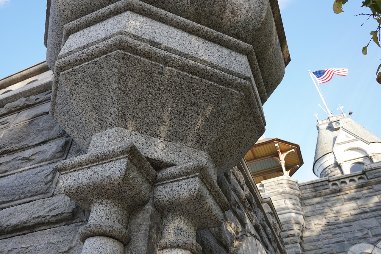 Belvedere Castle, a secret of Central Park in NYC