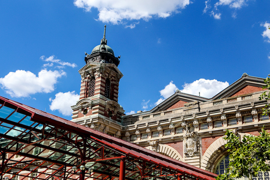 Entrance to the Immigration Museum at Ellis Island