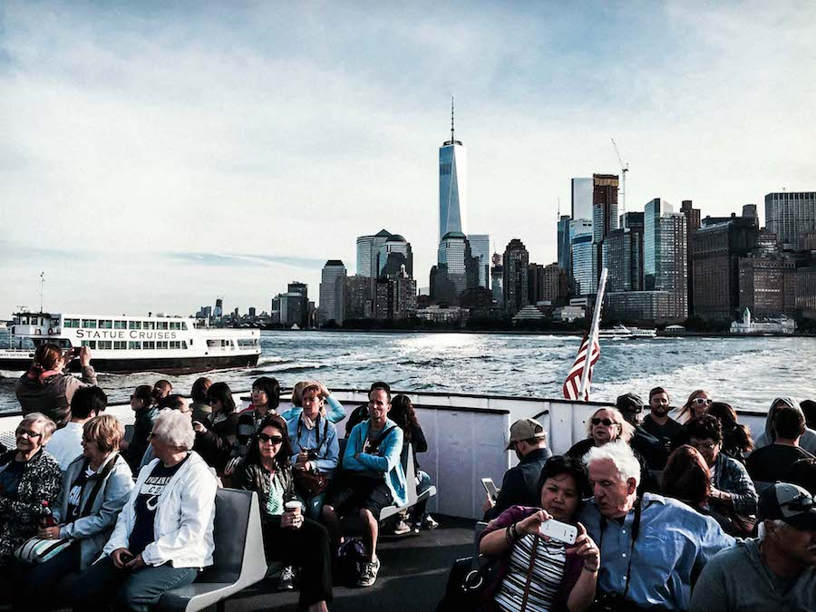 Ellis Island ferry