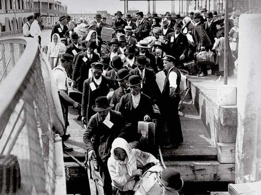 Ellis Island immigration