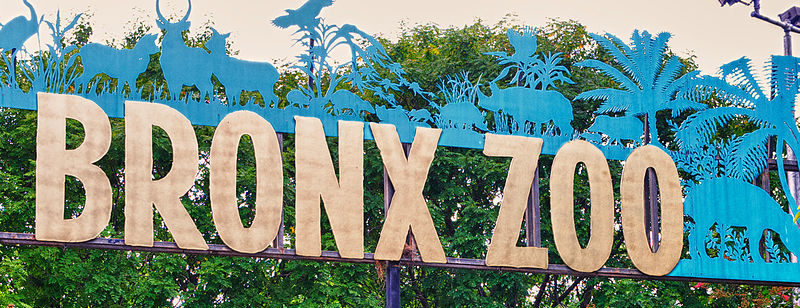 Bronx Zoo sign