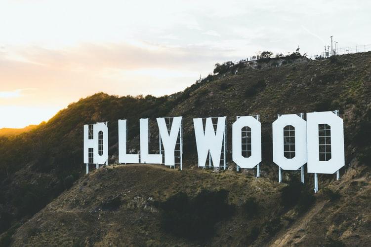hollywood sign close