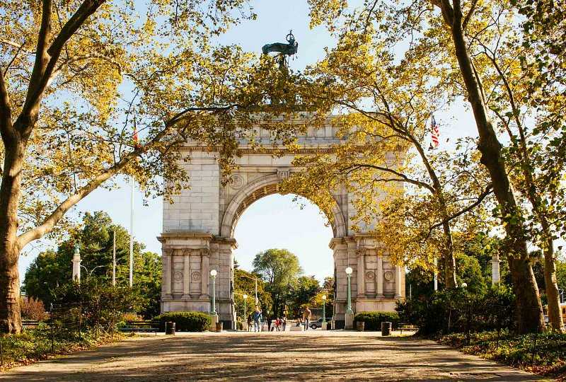 Grand Army Plaza arch in Brooklyn's Prospect Park
