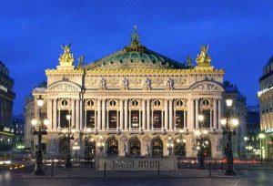 Facade of the Opera Garnier