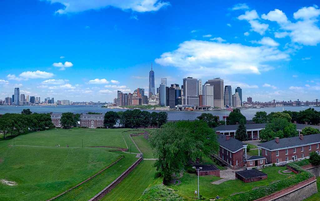 Manhattan from Governor's Island