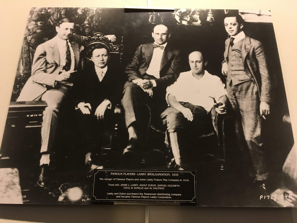 Historic Photo Display at Hollywood Heritage Museum in LA
