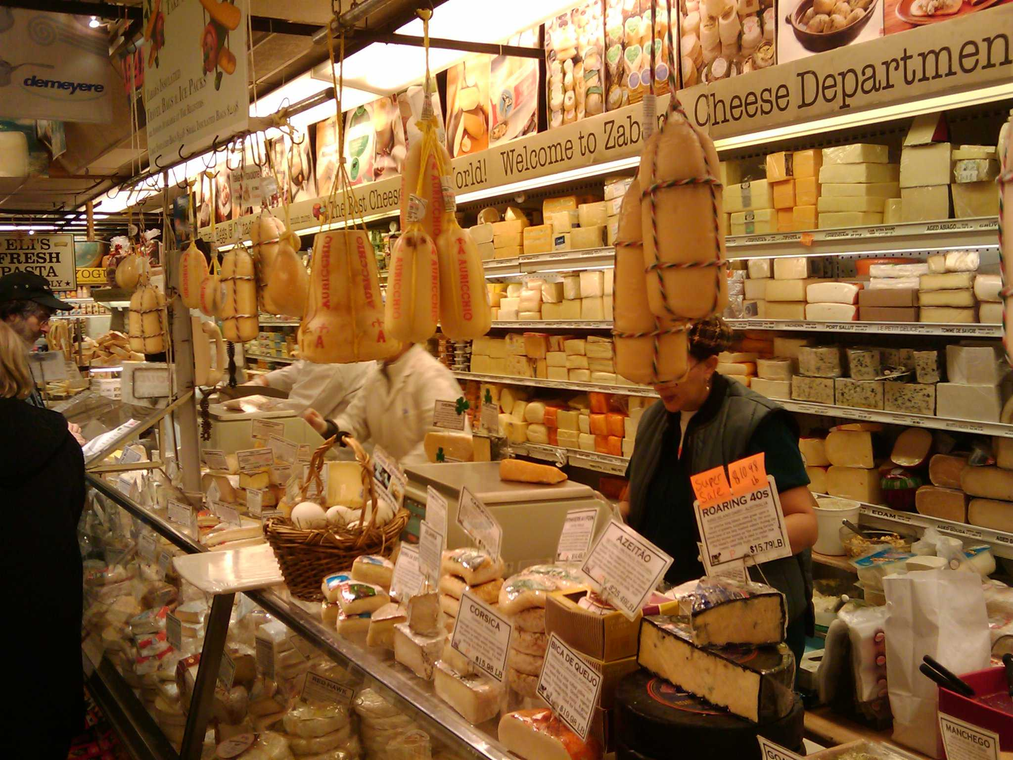 Store with lots of cheese