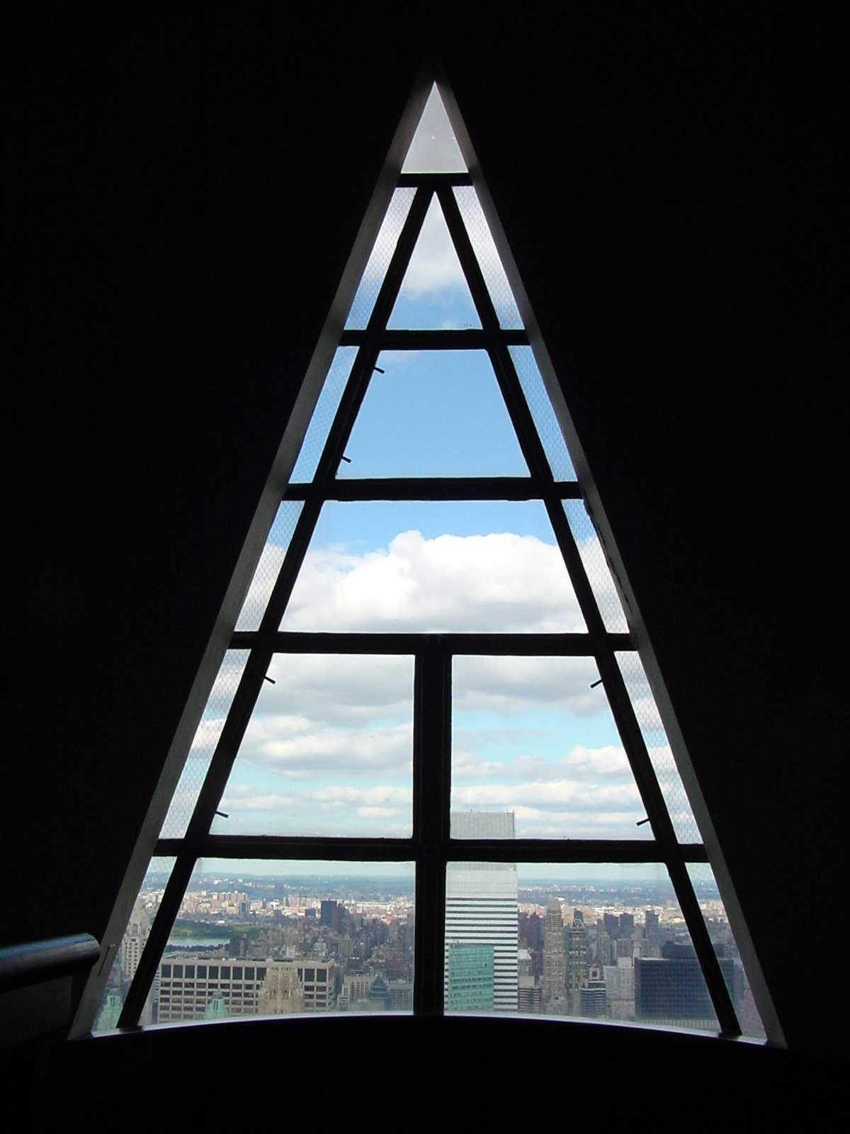 Triangle Shaped window