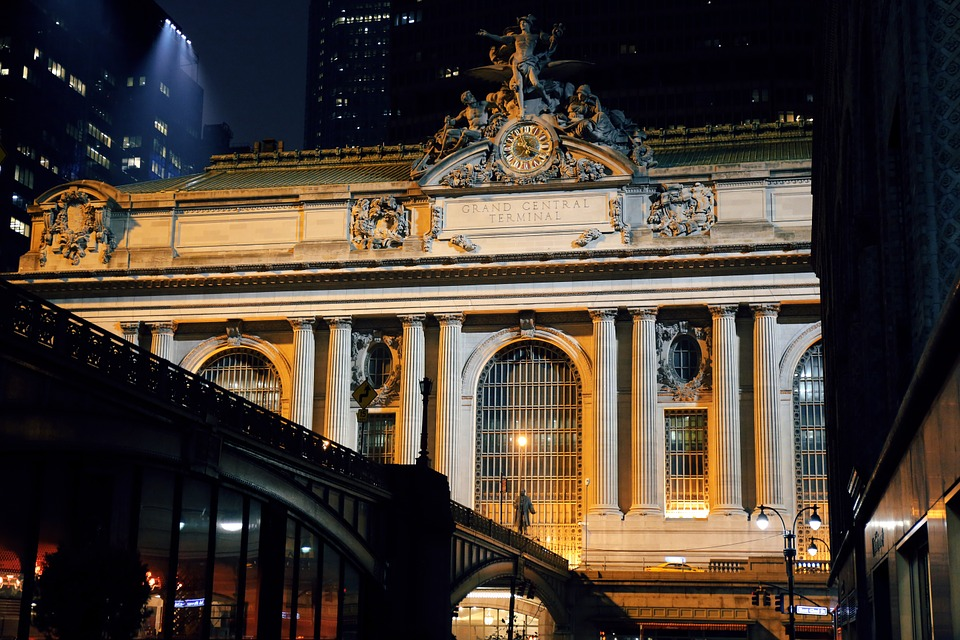 The outside of Grand Central Terminal
