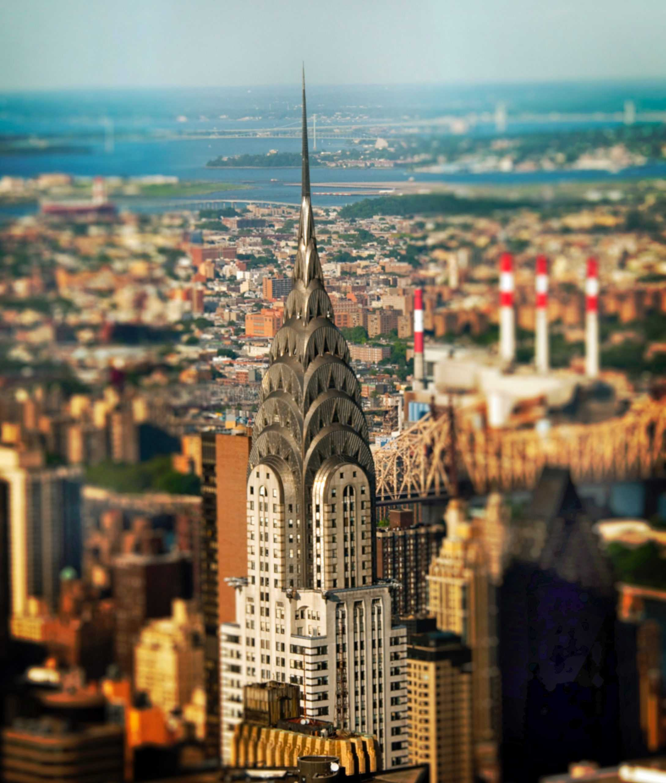 Tall building with spire