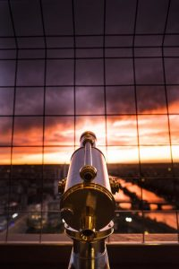 Ieffel Tower sunset view