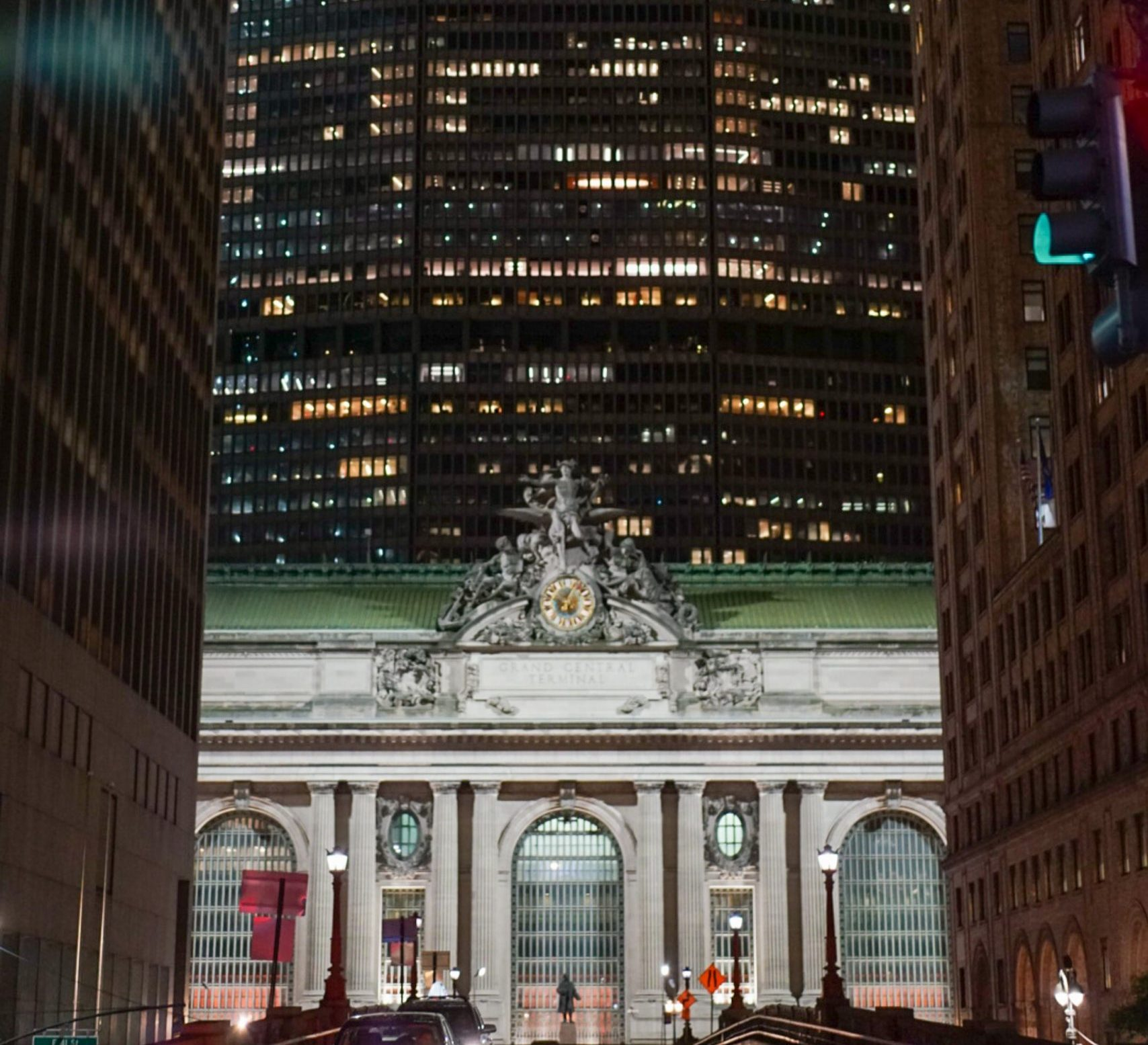 The outside of Grand Central