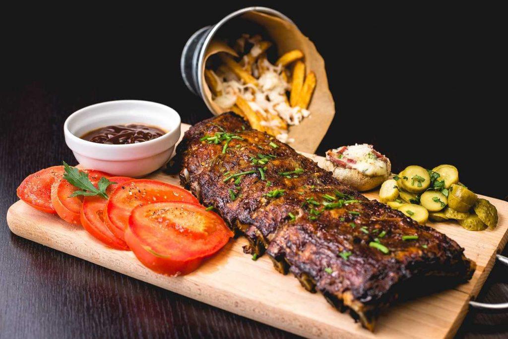 Upscale barbecue restaurant in Dallas