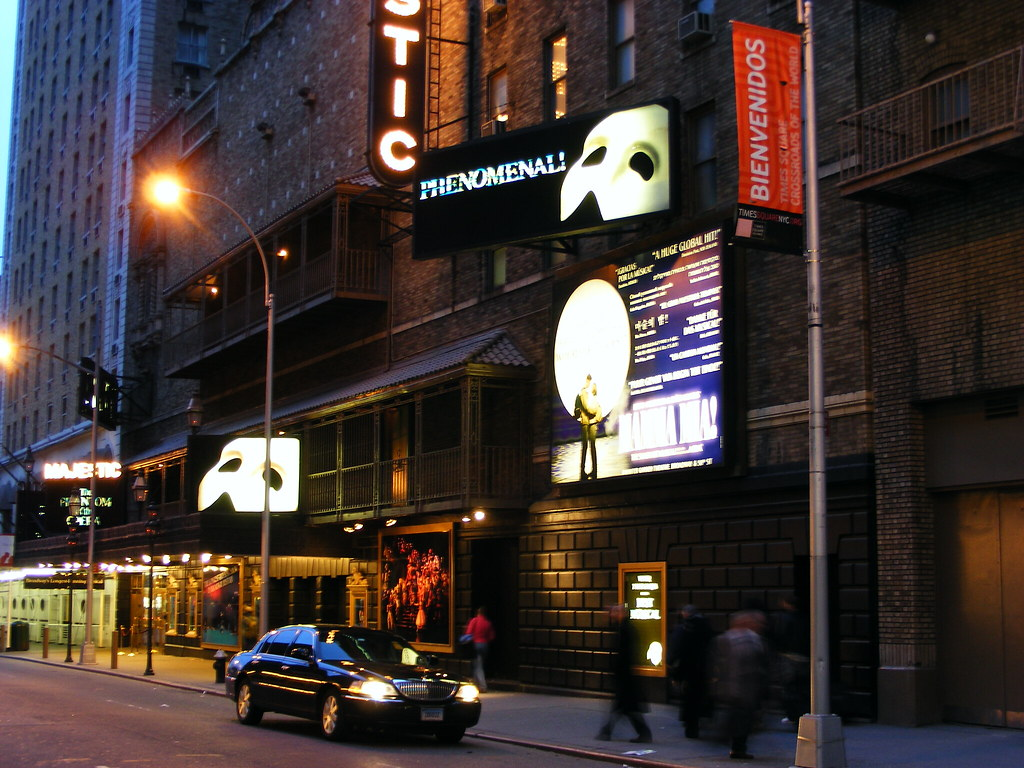 New York Broadway Phantom of the Opera