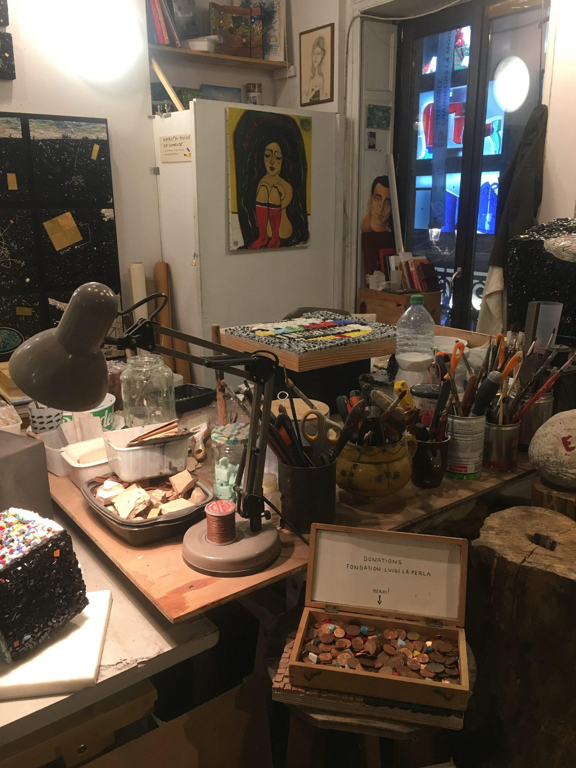 Working Art Studio