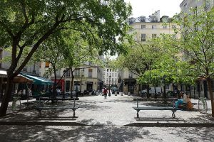 The square of Place du Sainte Cathering