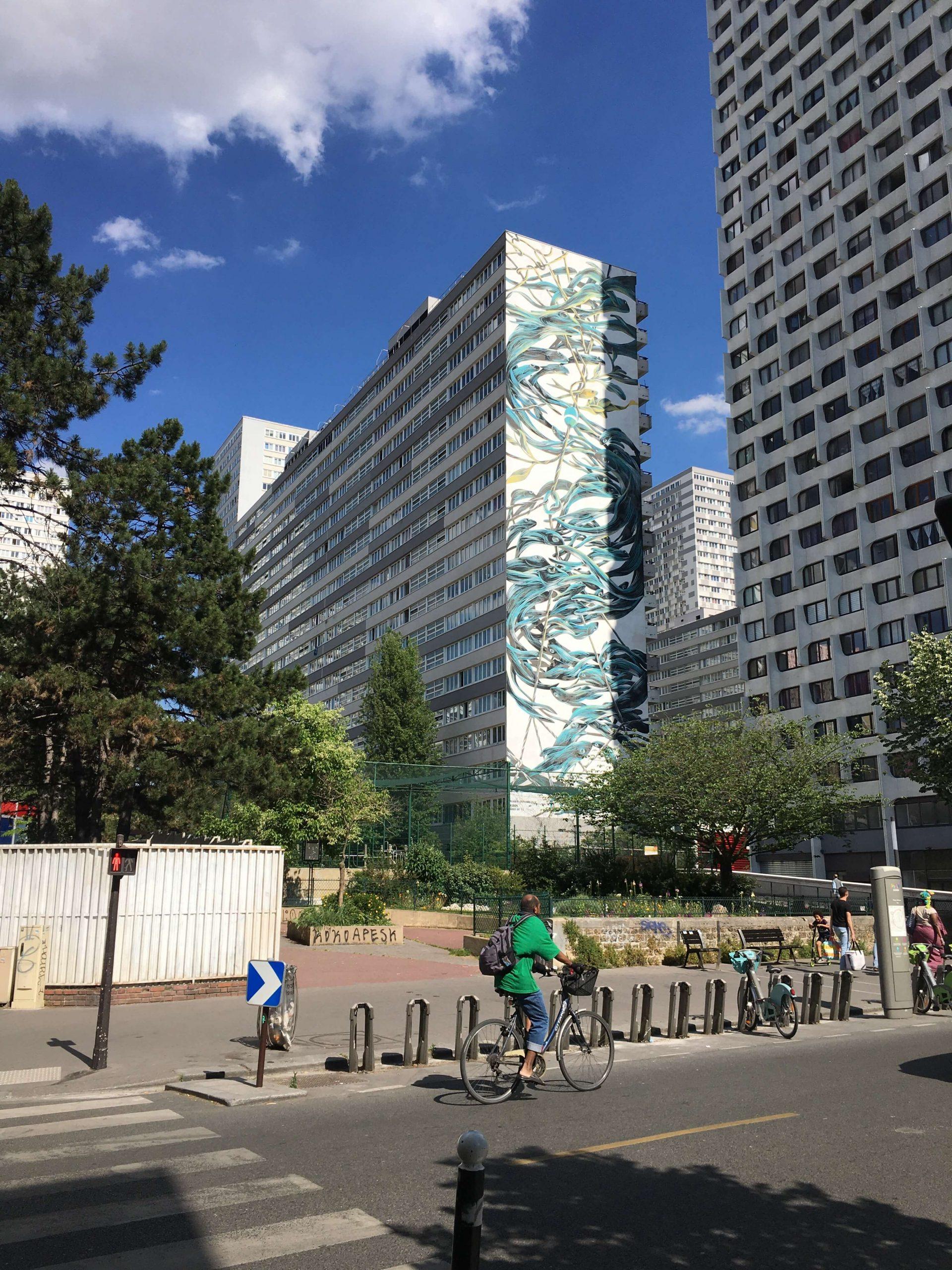 The Giant Murals in Paris