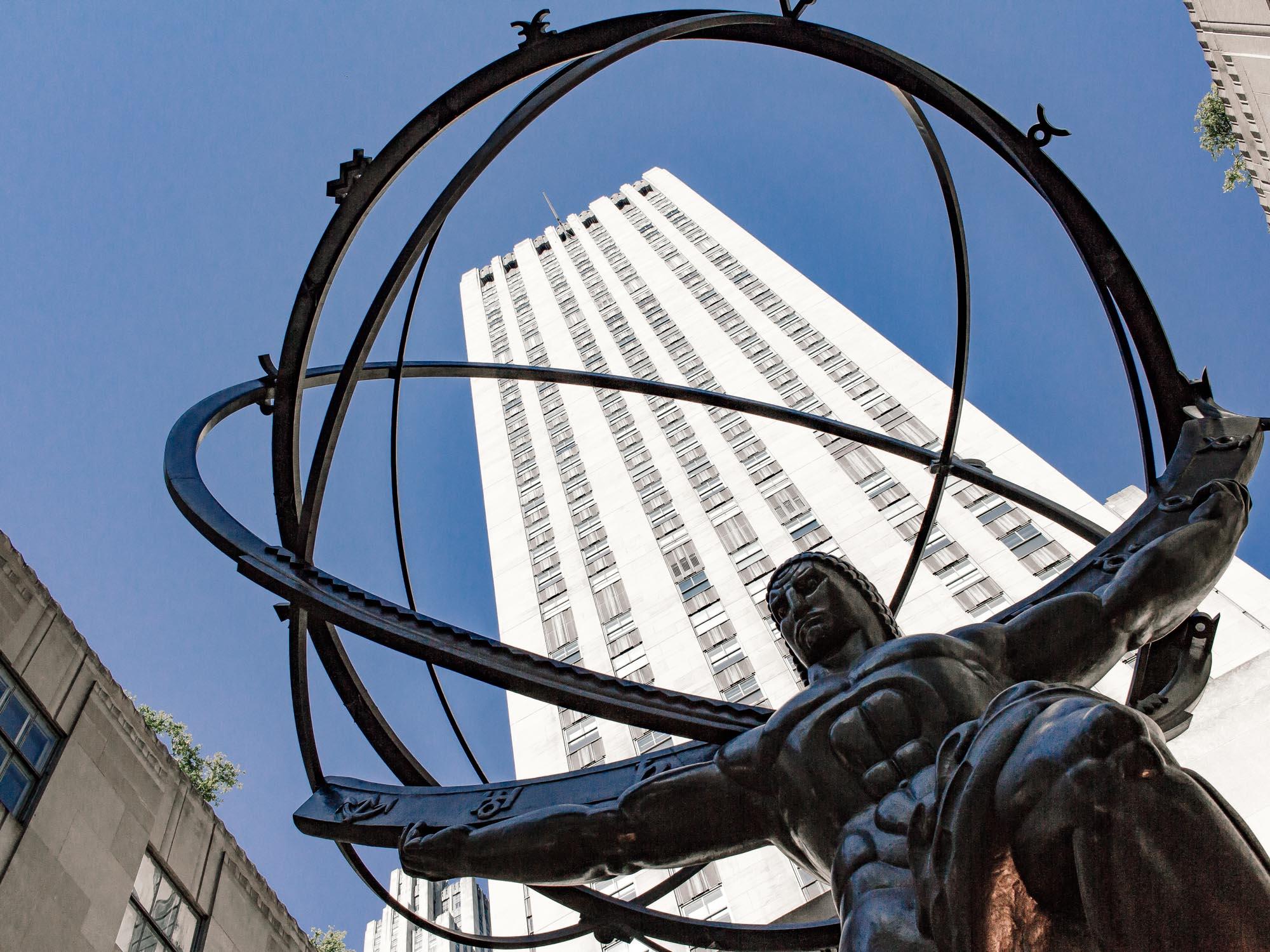 Atlas Statue; Rockefeller Center Plaza