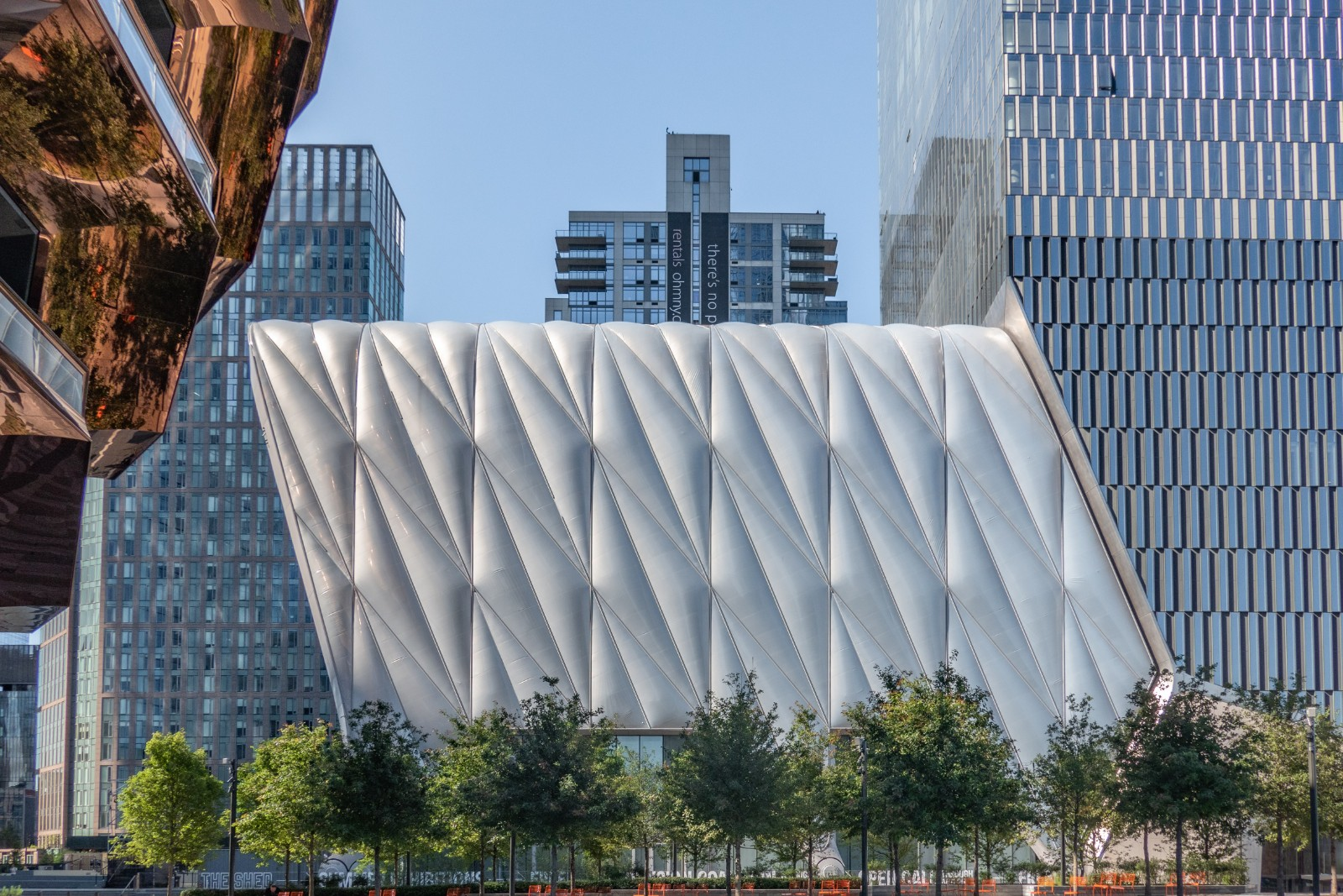 The Shed performing arts center at Hudson Yards