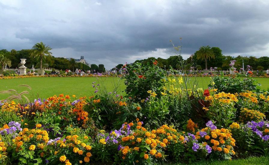 Jardin du Luxembourg floral design