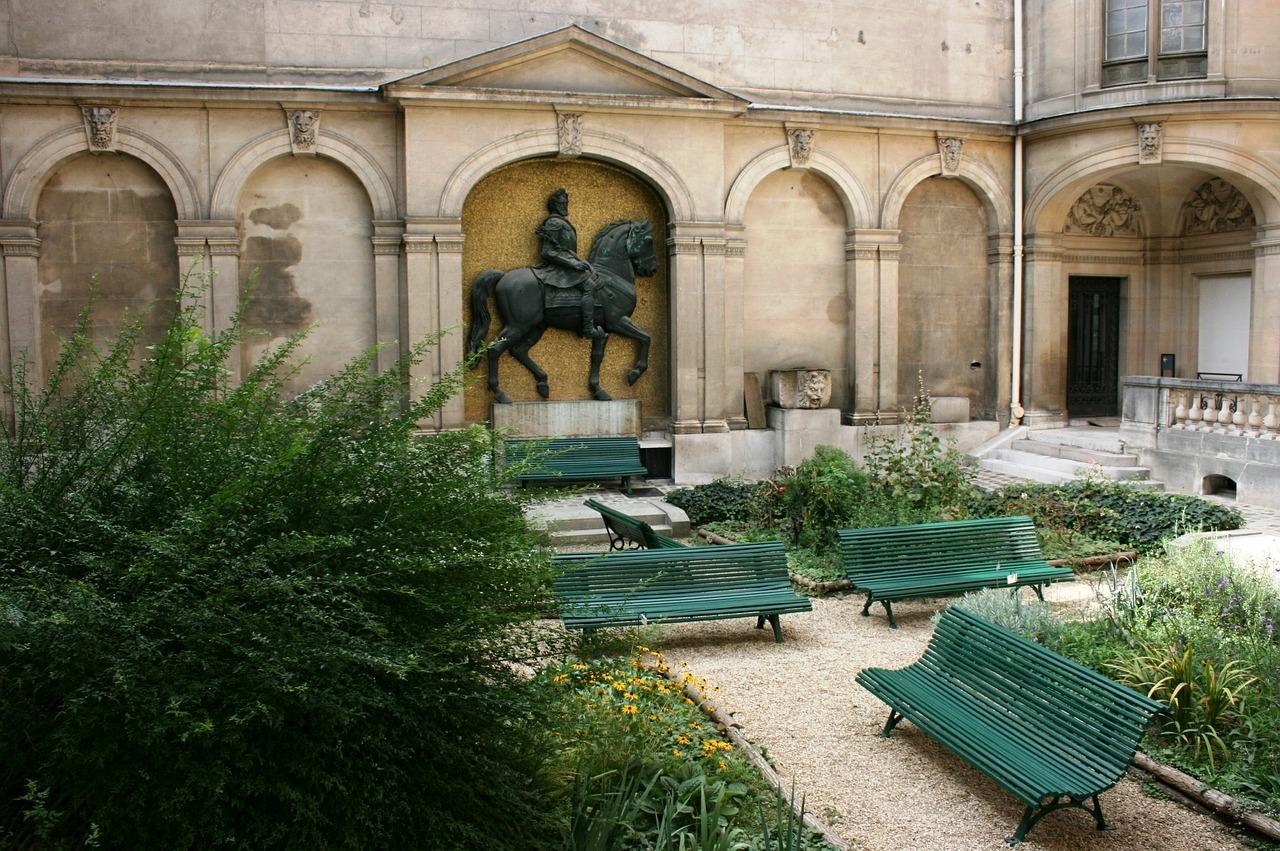 Musée Carnavalet courtyard