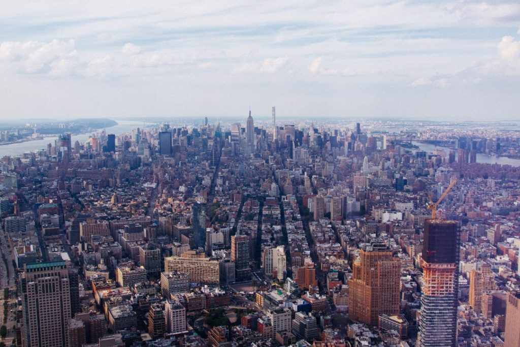 The view from the One World Observatory