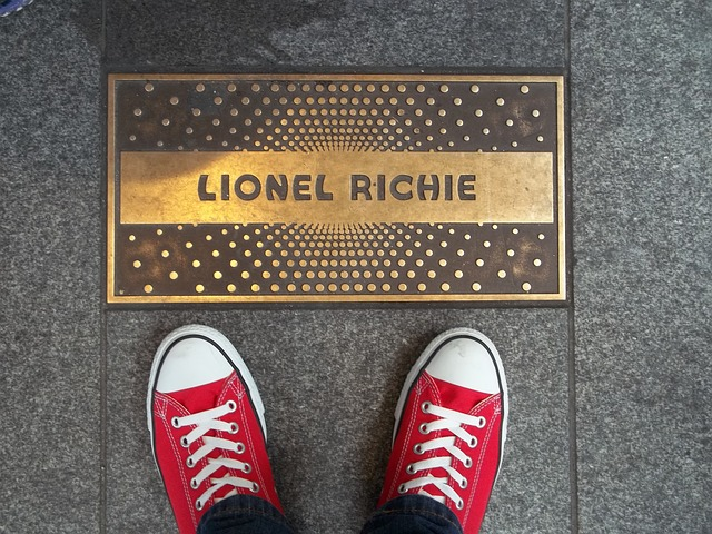Plaque at Apollo Theater in NYC
