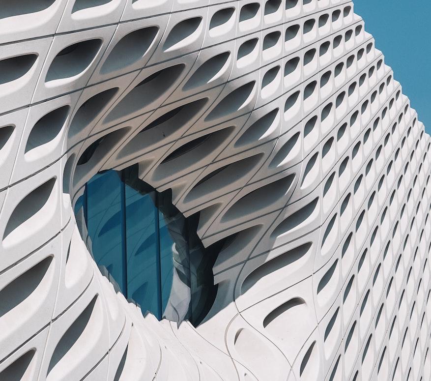 Architecture closeup of window