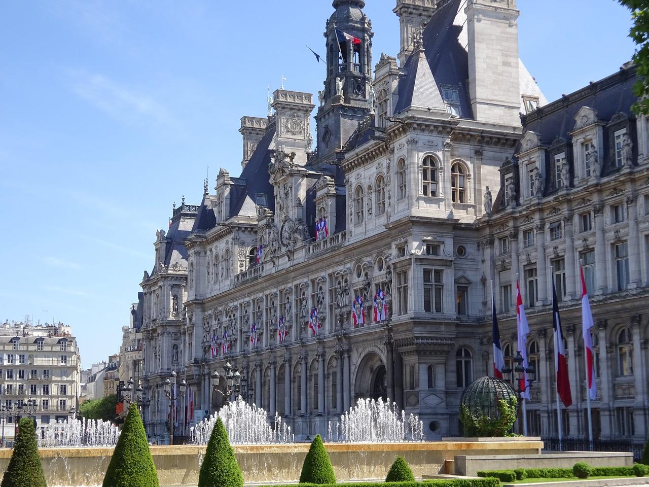hotel de ville Paris in Le Marais