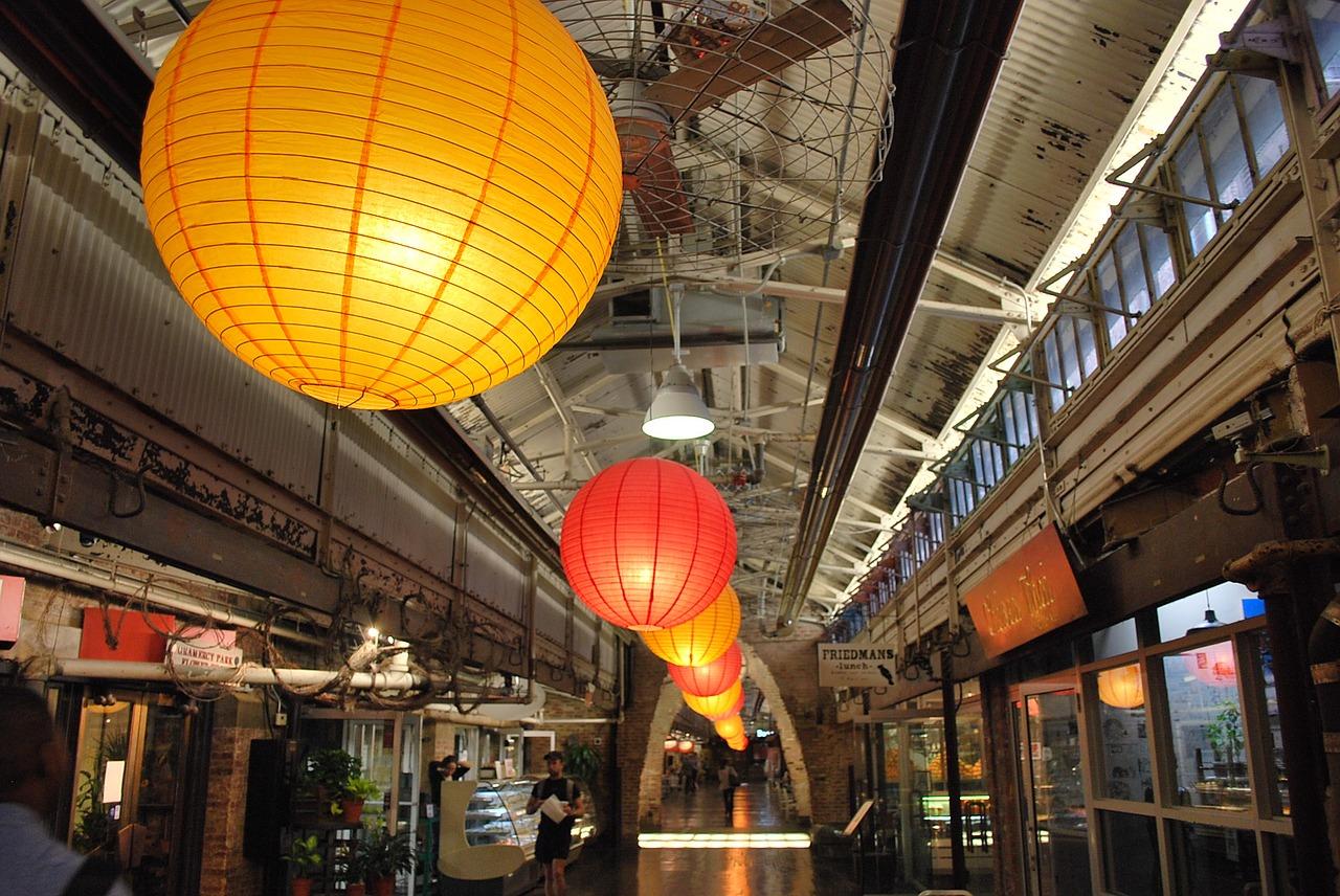Chelsea Market Lanterns