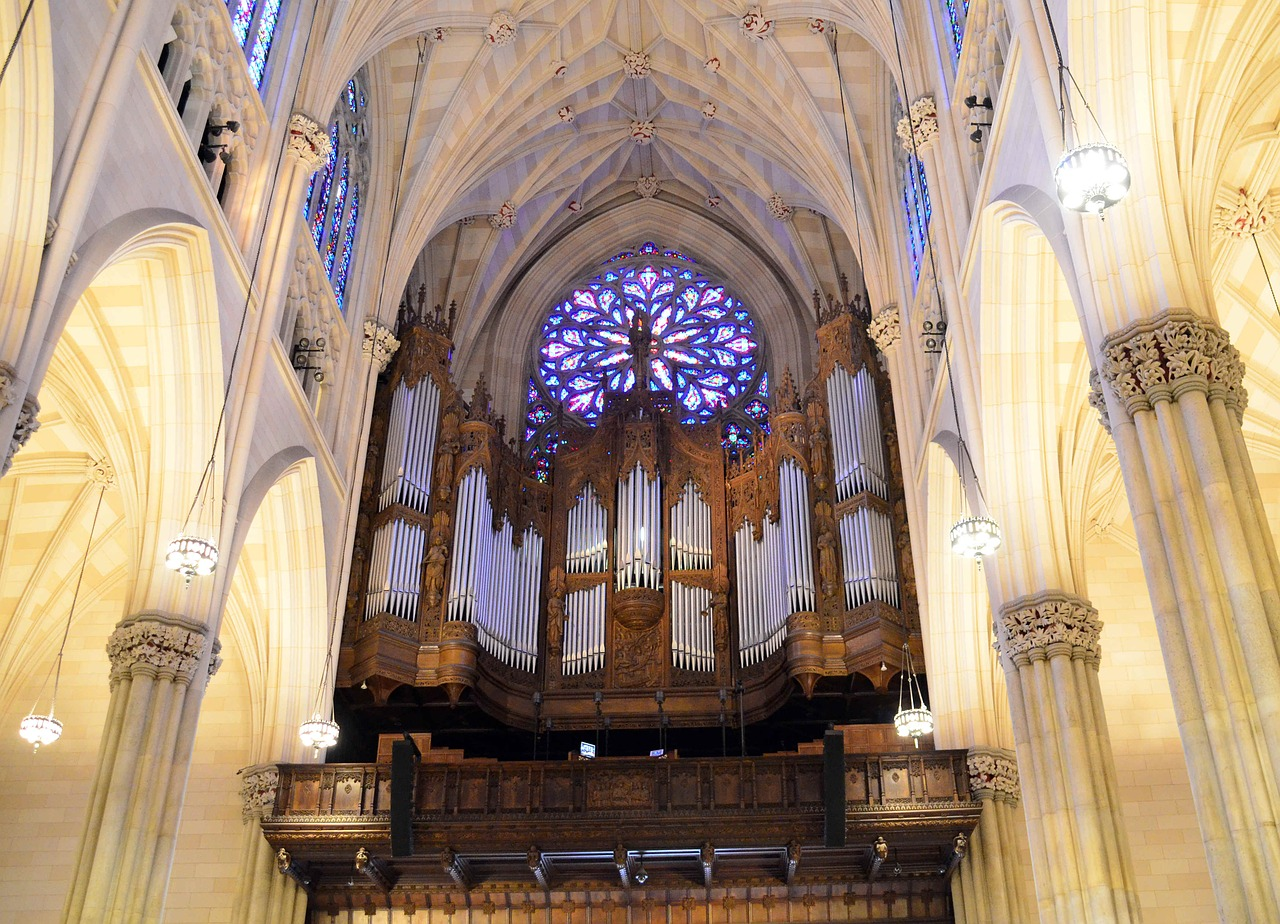 Pipe Organ at St Patrick's Cathedral