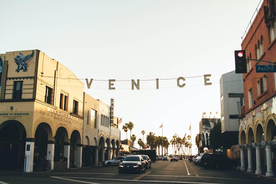 Venice Beach Sign in LA