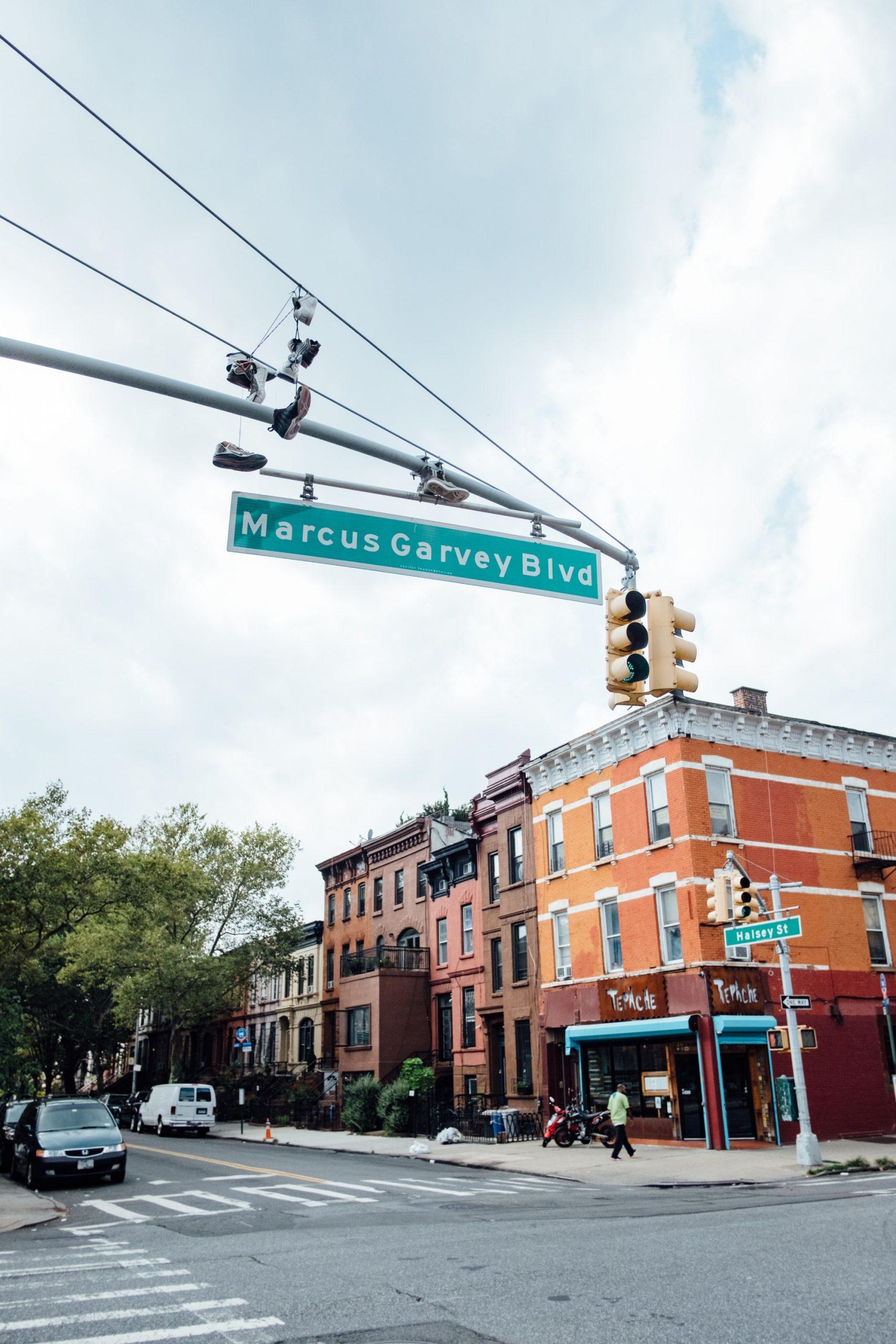 Marcus Garvey Blvd in Brooklyn