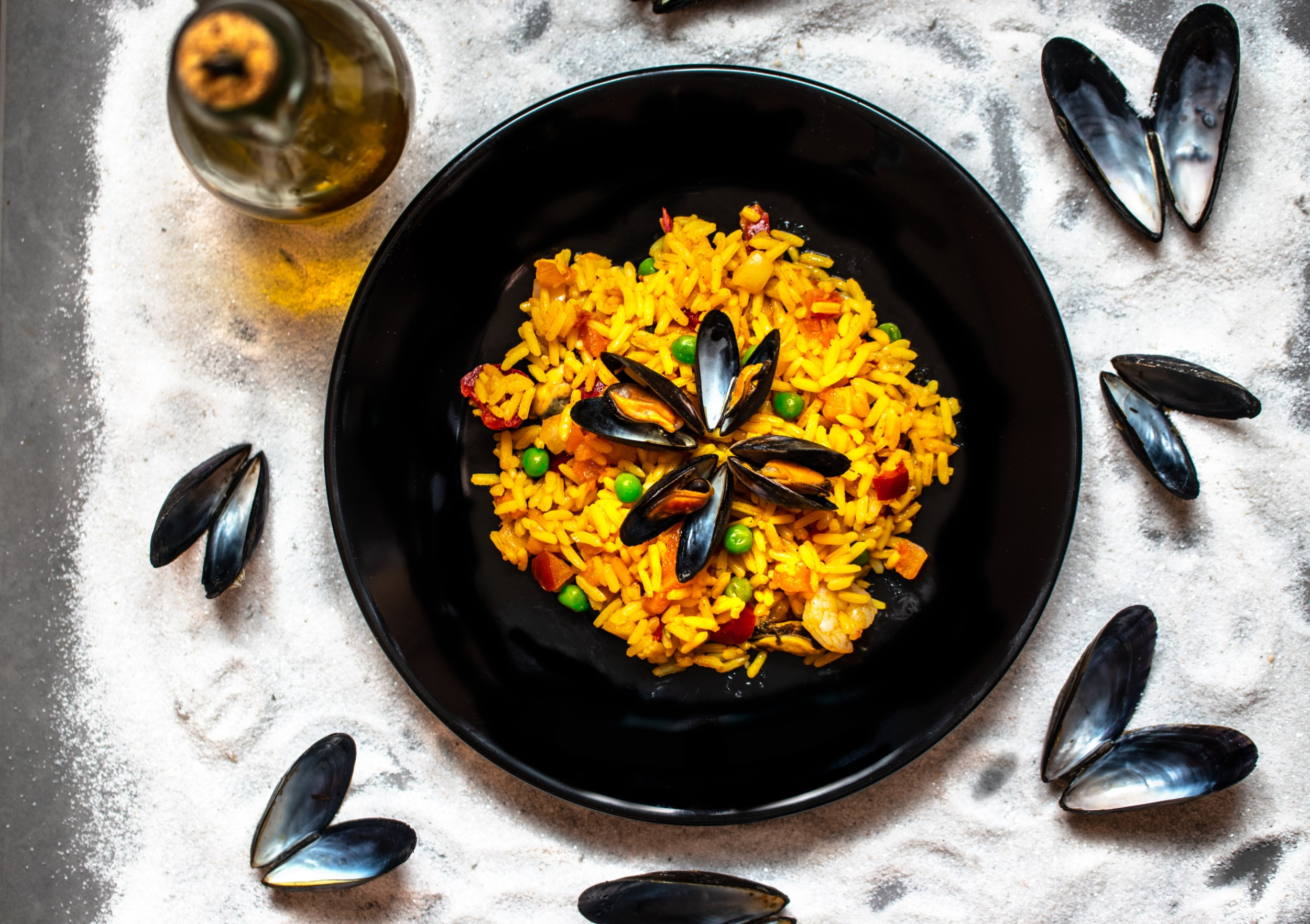 An authentic Spanish paella
