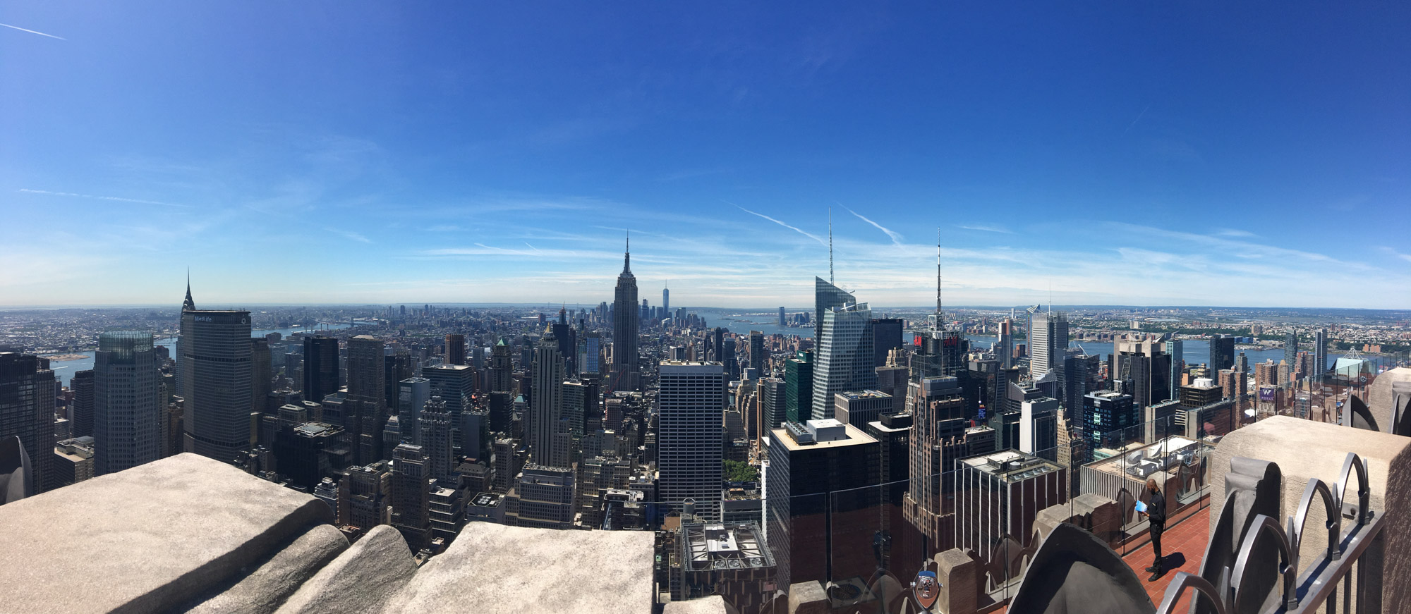 View from Top of the Rock Observation Deck