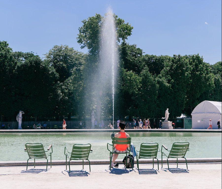 Tuileries fountain