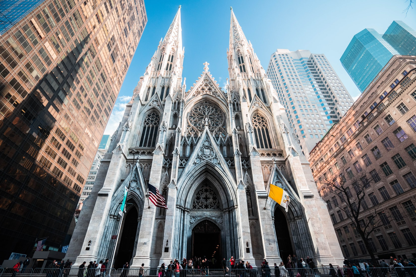 St Patrick's Cathedral in NYC