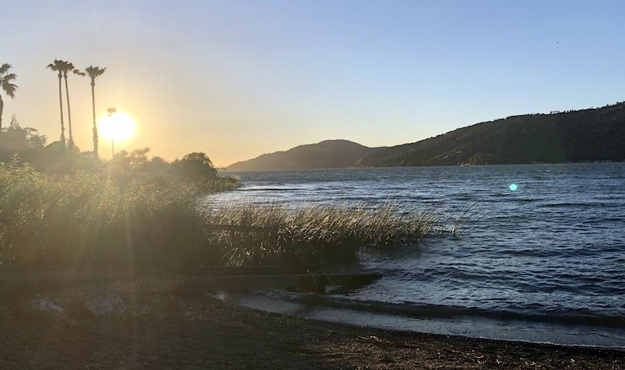 Clear Lake at Sunset, an outdoor adventure near San Francisco