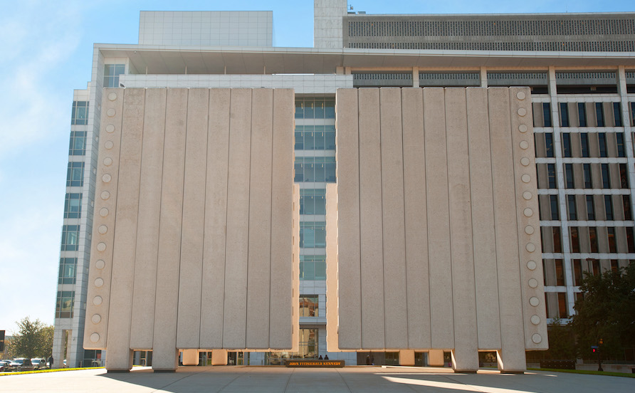 JFK Memorial in Downtown Dallas