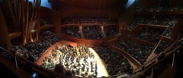 LA Philharmonic in the Walt Disney Concert Hall