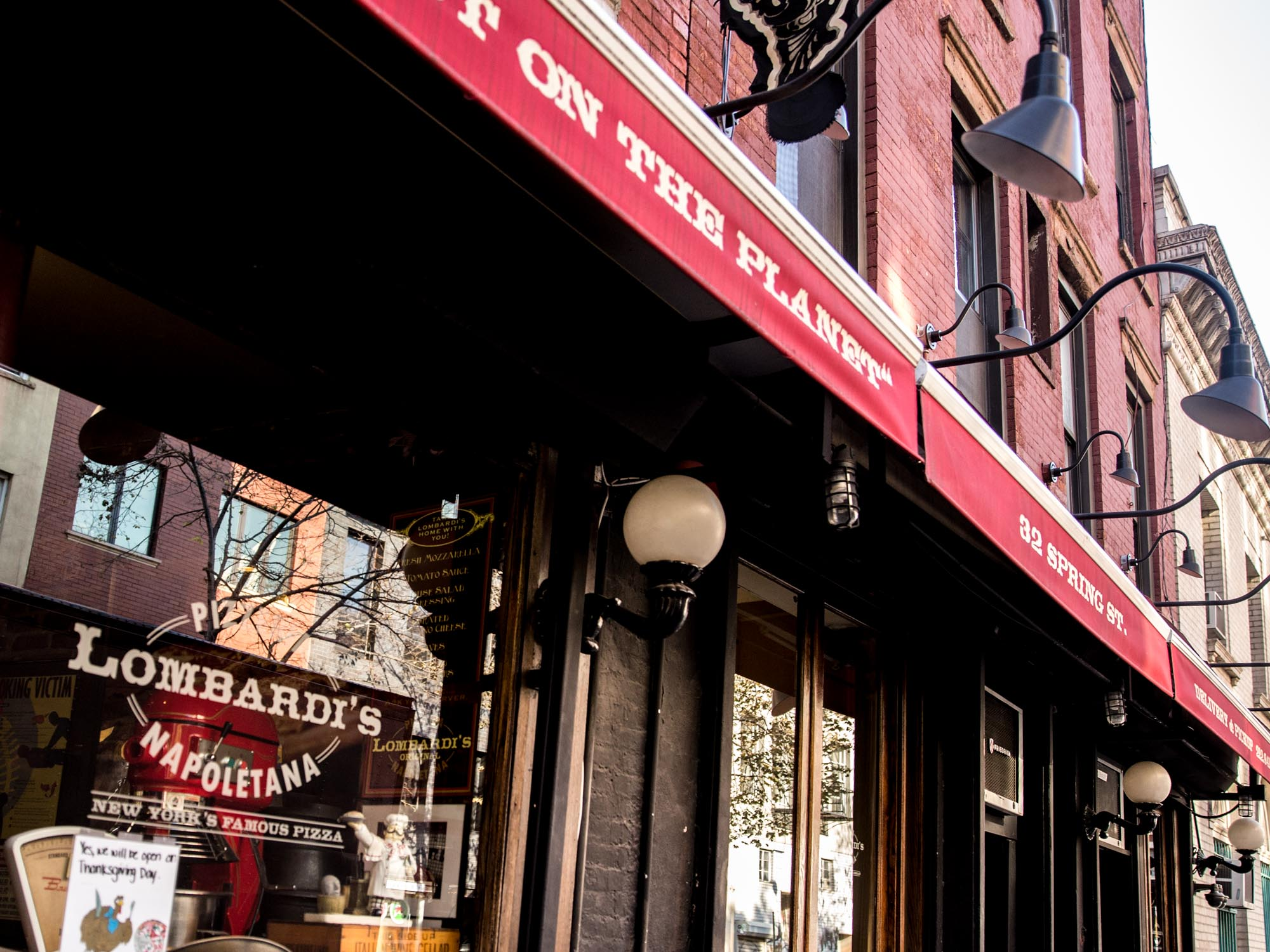 Lombardi's has the oldest pizza in the US