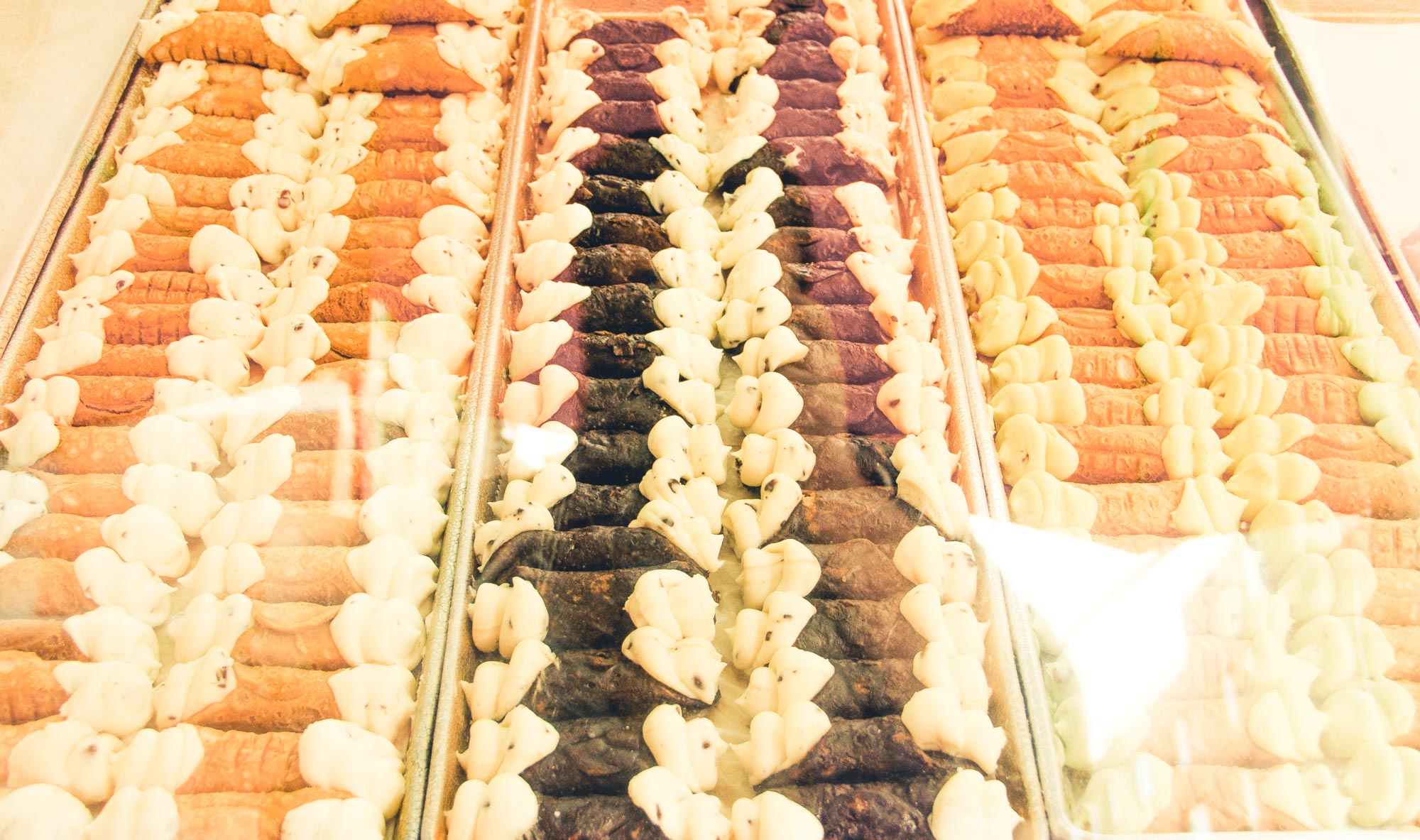 Little Italy is your place for the best cannoli