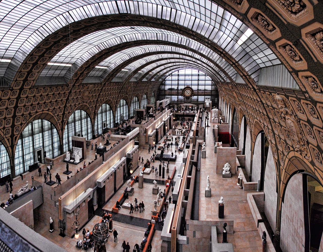 Musee d'Orsay interior