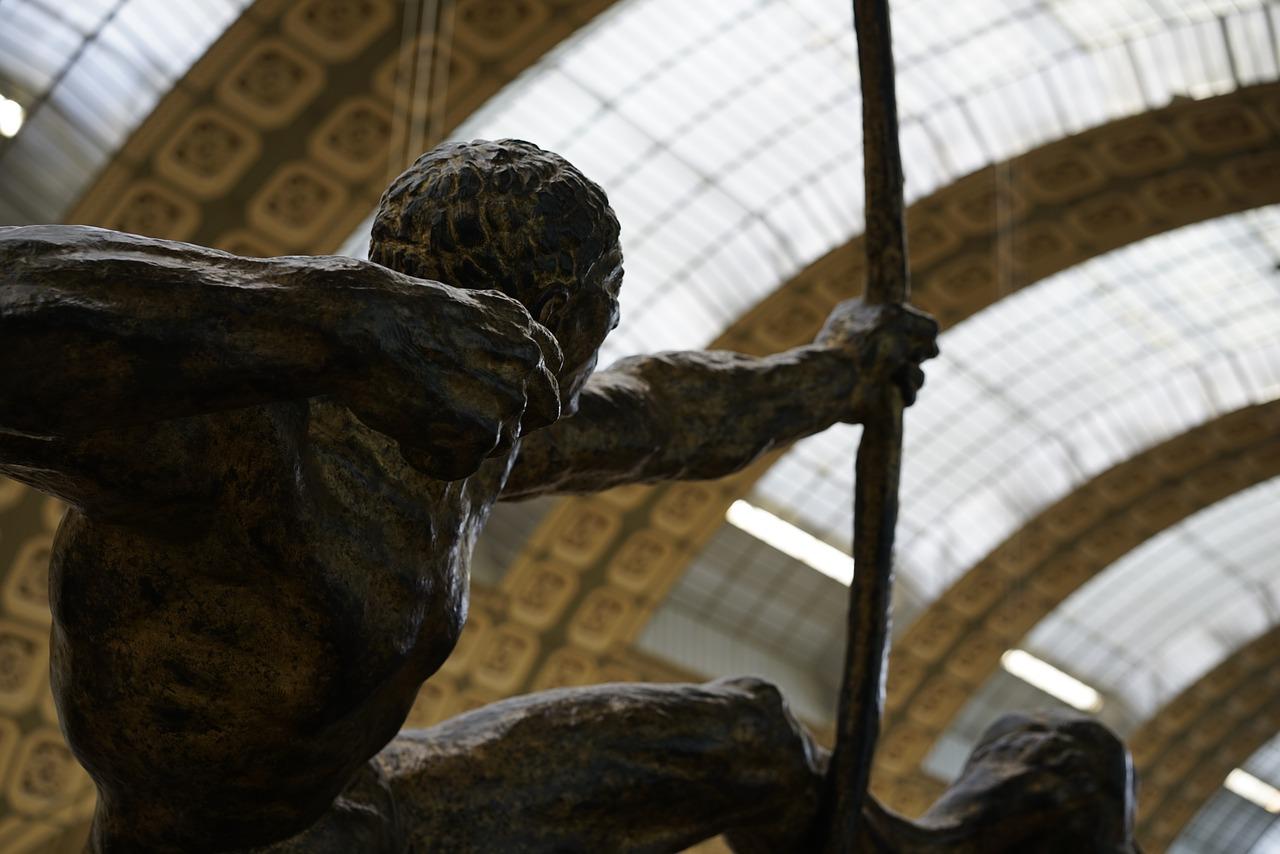 Sculpture at Orsay Museum in Paris