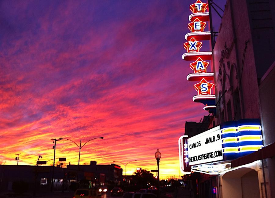 Texas Theatre in Dallas