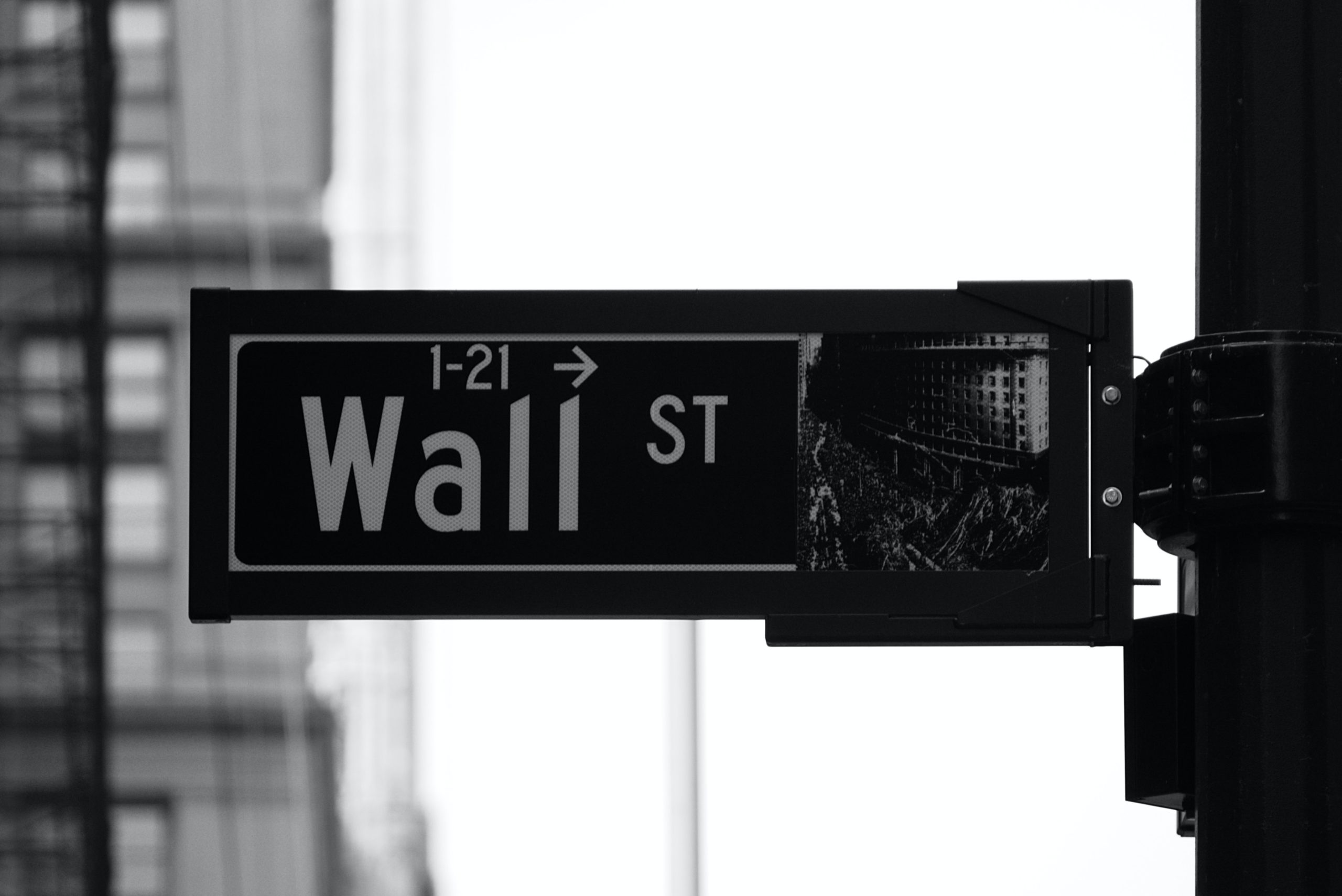 A Wall Street Sign in NYC