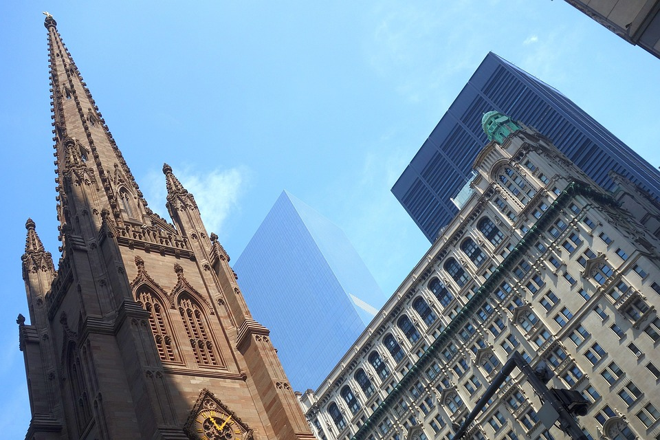 Trinity Church in the Financial District
