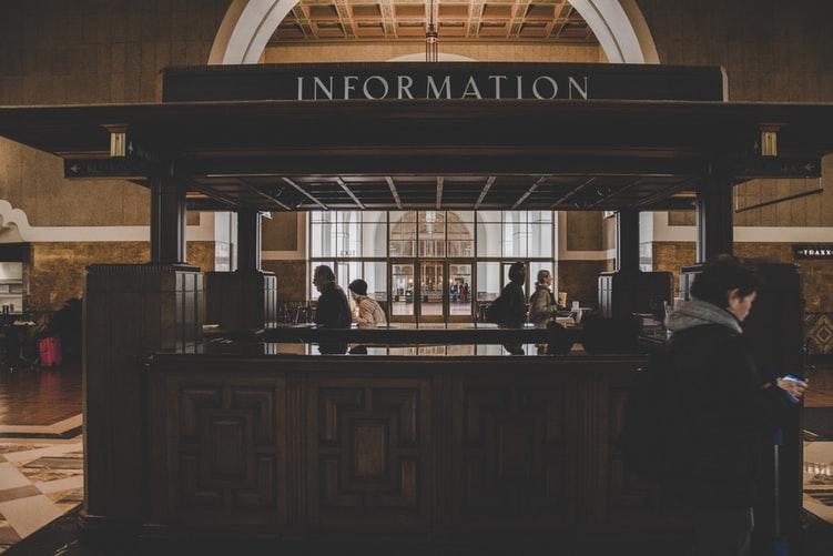 Union Station Information Desk